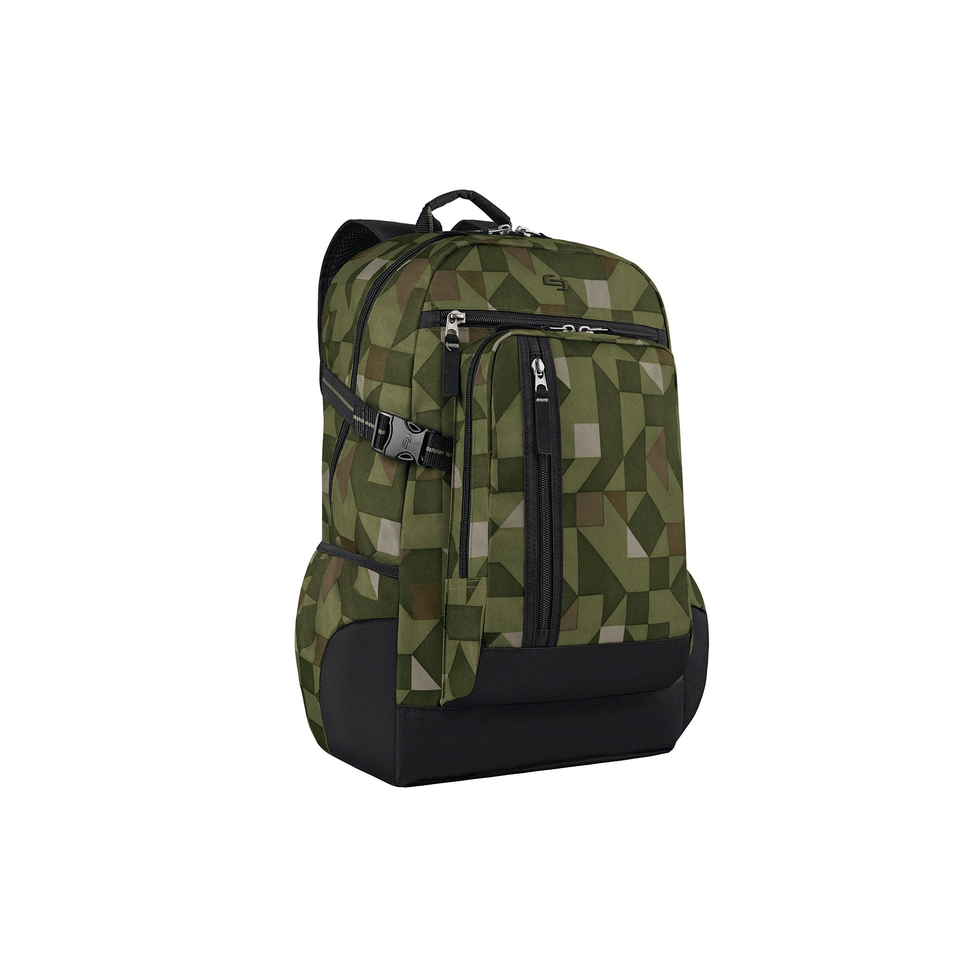 Solo 18 Warp Backpack - Gray, Red/Grey
