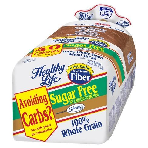 Healthy Life Sugar Free 100% WW Bread - 16 oz