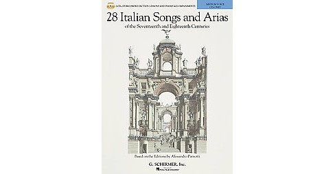 28 Italian Songs & Arias of the 17th and 18th Centuries, Medium Voice : Diction Lessons and - image 1 of 1