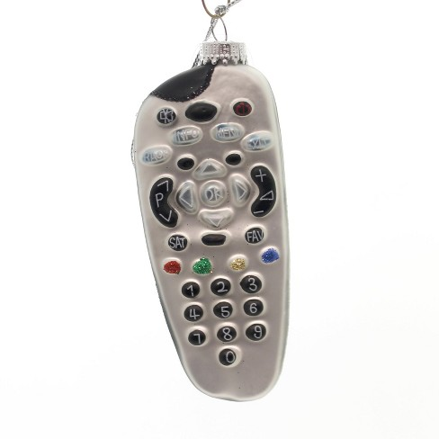 """Holiday Ornaments 4.5"""" Tv Remote Control Cable Television  -  Tree Ornaments - image 1 of 2"""