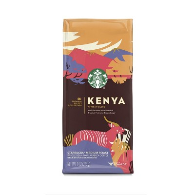 Coffee: Starbucks Single Origin Whole Bean Coffee