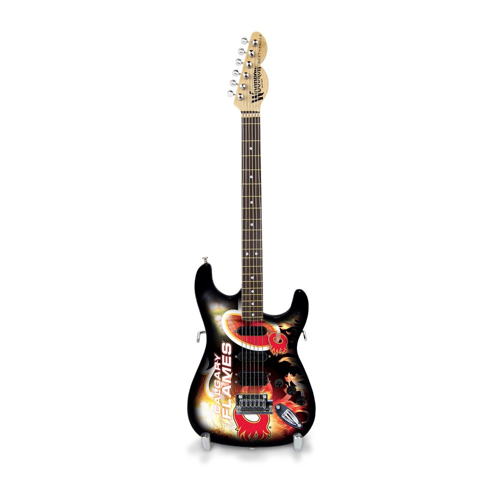 Calgary Flames Mini Guitar Calgary Flames Mini Guitar