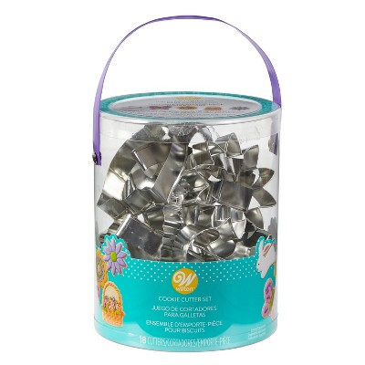 Wilton 18pc Metal Easter Cookie Cutter Set