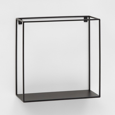 Metal Wall Shelf Black - Project 62™ - image 1 of 1