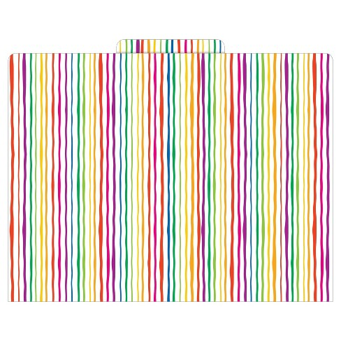 "Barker Creek® File Folders, 9.5"" x 12"", 12ct - Stripes - image 1 of 3"