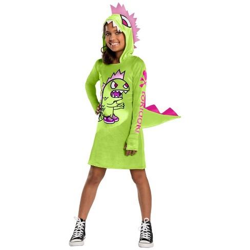 Girls' tokidoki Kaiju Halloween Costume - image 1 of 1