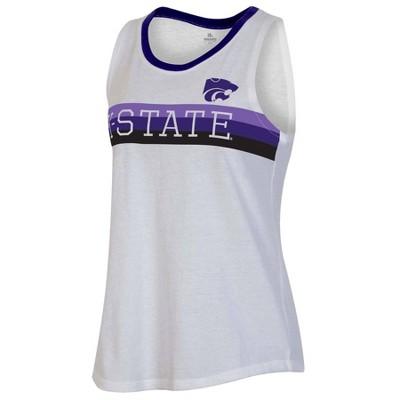 NCAA Kansas State Wildcats Women's White Tank Top