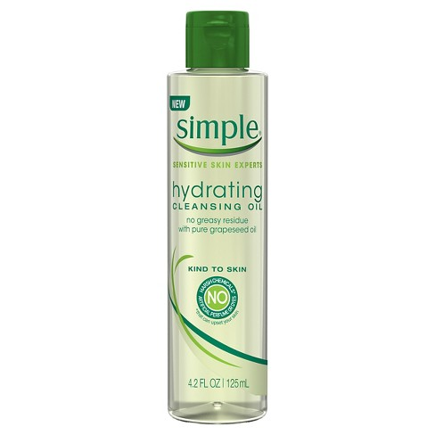 Simple® Sensitive Skin Experts Hydrating Cleansing Oil 4.2 oz - image 1 of 2