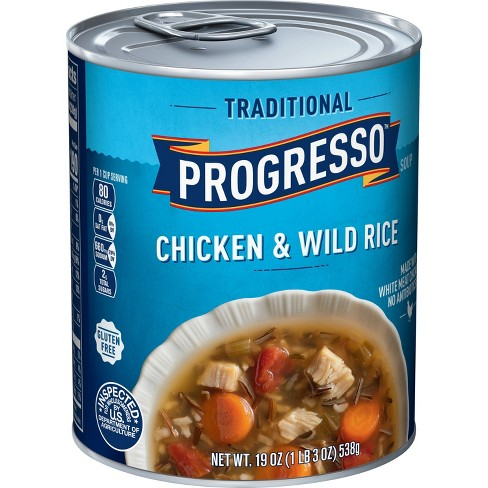 Progresso Traditional Chicken & Wild Rice Soup 19oz - image 1 of 3