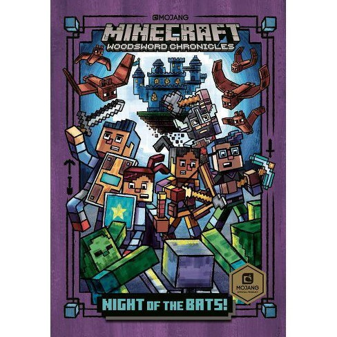 Night of the Bats! (Minecraft Woodsword Chronicles #2) - (Stepping Stone Book(tm)) by  Nick Eliopulos (Hardcover) - image 1 of 1
