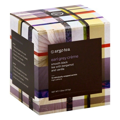 Argo Tea Earl Gray Vanilla Creme - 15ct - image 1 of 1