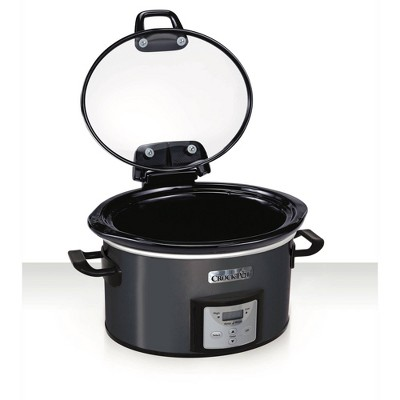 Crock Pot 4qt Programmable - Charcoal