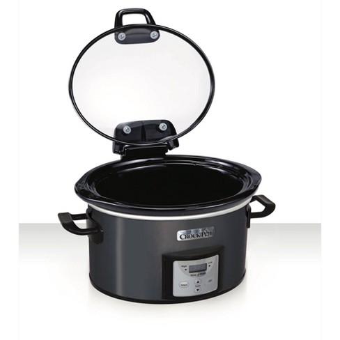 Crock Pot 4qt Programmable - Charcoal - image 1 of 4