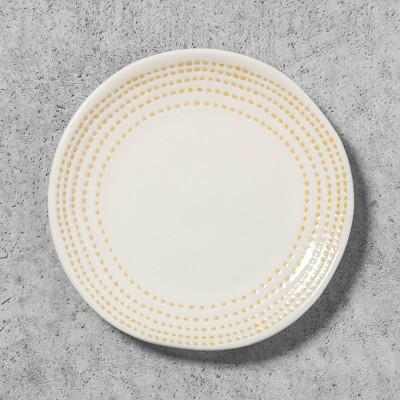 Stoneware Stripe Bread Plate - Golden Yellow - Hearth & Hand™ with Magnolia