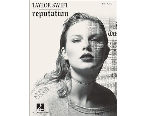 Taylor Swift Reputation : Easy Piano -  (Paperback) - image 1 of 1