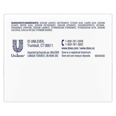 Dove White Moisturizing Beauty Bar Soap - 2pk - 3.75oz Each