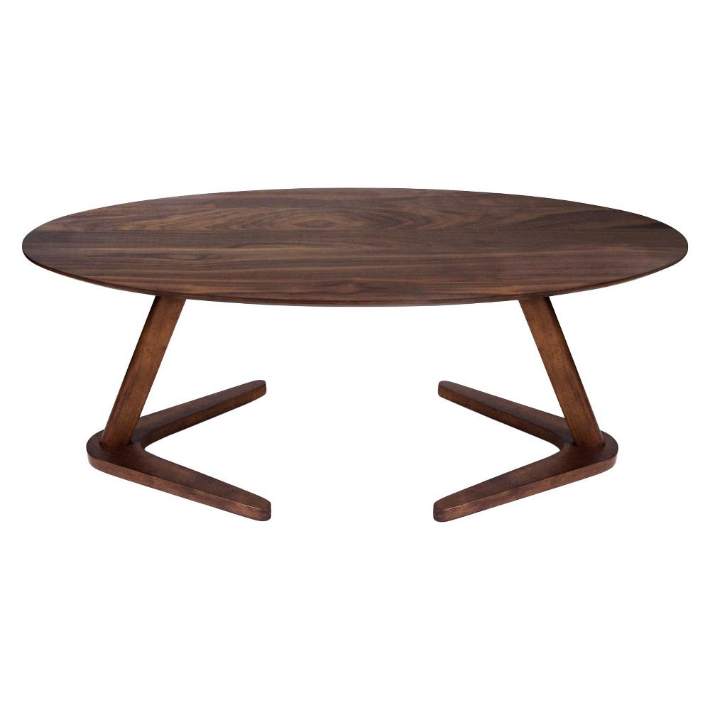 Andreas Coffee Table - Walnut (Brown) - Aeon