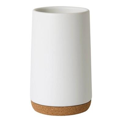 Beringer Bathroom Tumbler White - Allure Home Creations