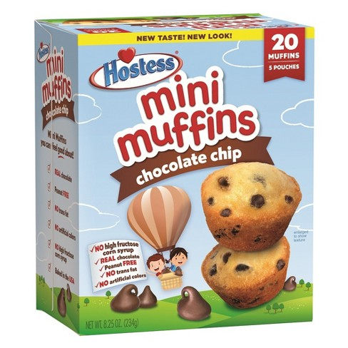 Hostess Chocolate Chip Mini Muffins - 5ct/8oz - image 1 of 4