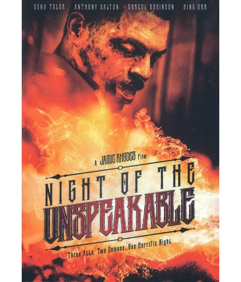 Night Of The Unspeakable (DVD) - image 1 of 1