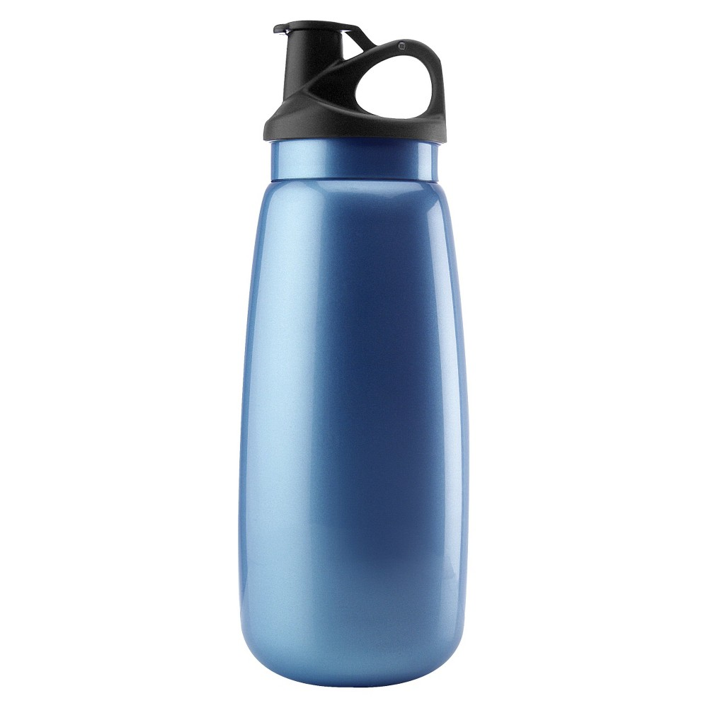 Image of Aktive Lifestyle Water Bottle 34oz - Blue, Ocean Blue
