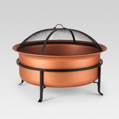 Copper Wood Burning Fire Pit 29  - Round - Smith & Hawken™