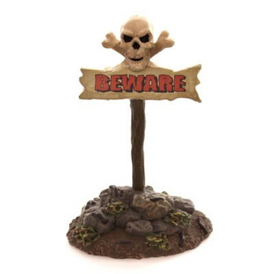 Dept 56 Accessories Beware The Boneyard, Sign Halloween Accessory  -  Decorative Figurines