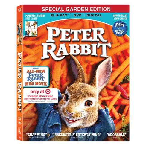 Peter Rabbit Target Exclusive (Blu-Ray + DVD + Digital) - image 1 of 1