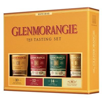 Glenmorangie Highland Single Malt Scotch Whisky Taster Pack - 4pk/100ml Bottles