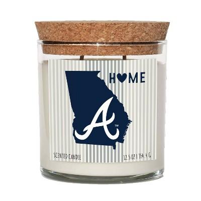 MLB Atlanta Braves Home State Candle