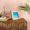 """4"""" x 4"""" Resin and Wood Photo Frame - Opalhouse™ - image 2 of 4"""