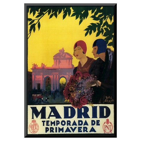 Art.com Madrid in Springtime by Lantern Press - Mounted Print - image 1 of 2