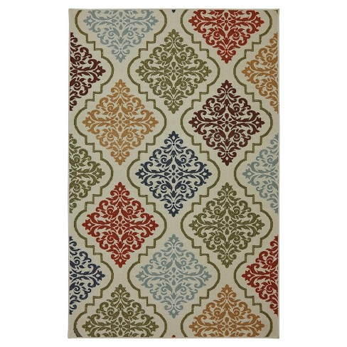 Fancy Ogee Rug - Mohawk - image 1 of 2