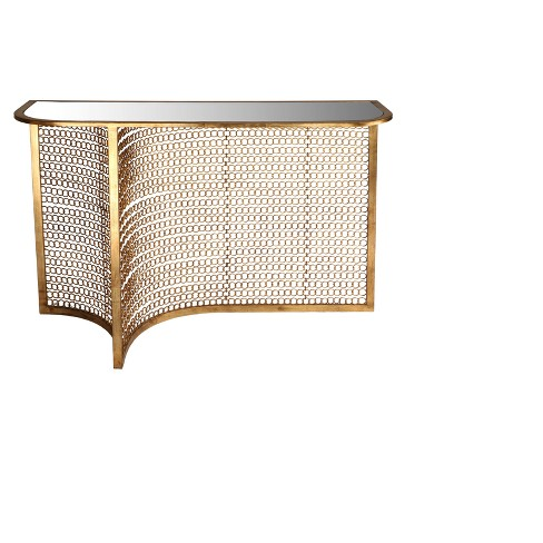 Console Table Gold - Safavieh - image 1 of 2