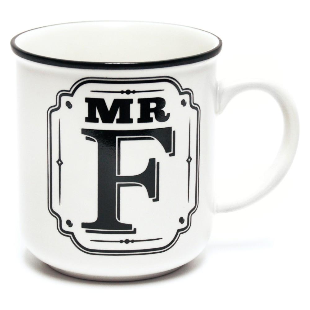 'Mr. F' Mug - History & Heraldry, White