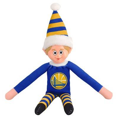 Forever Collectibles Golden State Warriors Holiday Elf
