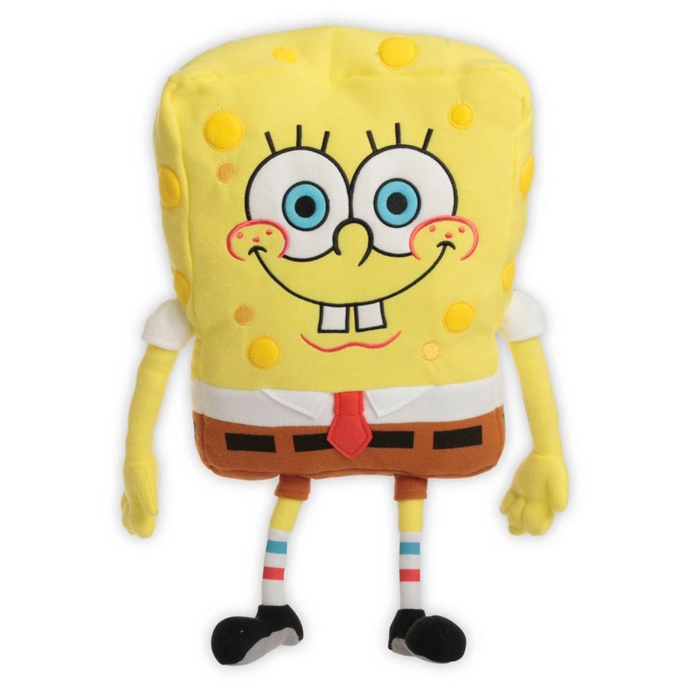 Image of SpongeBob SquarePants Throw Pillow Yellow