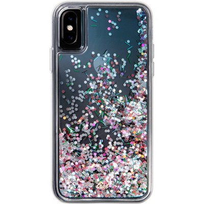 LAUT Apple iPhone Liquid Glitter Case - Confetti Party