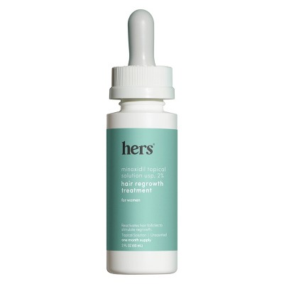 hers Minoxidil Topical Hair Growth Solution - 2oz