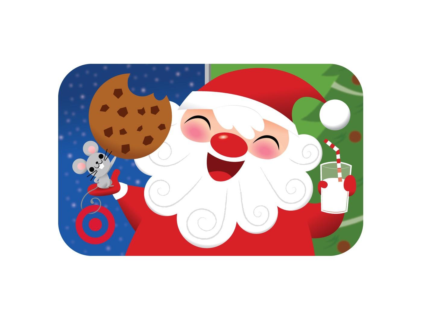 Laughing Santa Gift Card - image 1 of 1