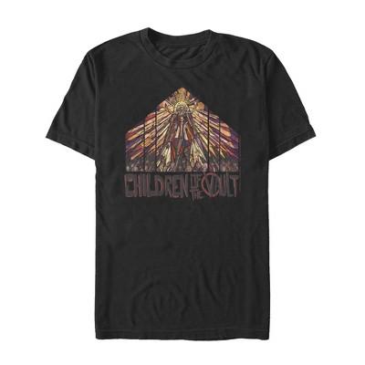 Men's Borderlands 3 Children of the Vault Stained Glass T-Shirt