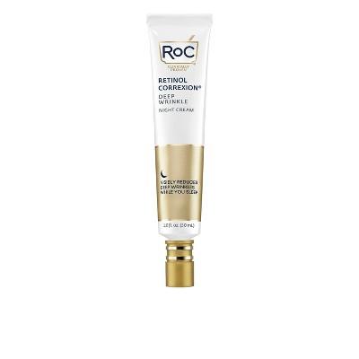 RoC Retinol Correxion Deep Wrinkle Anti-Aging Night Face Cream - 1oz