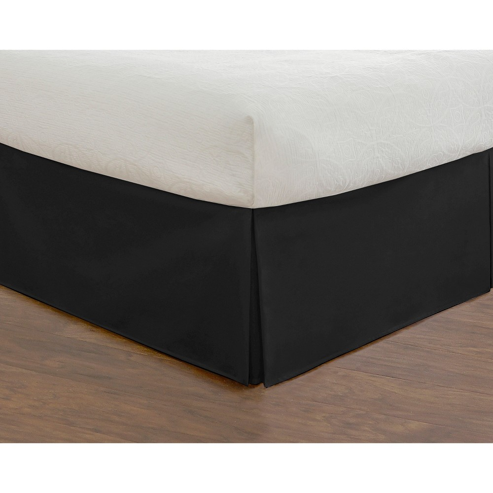 Image of Black Tailored Bedding Collection 14 Bed Skirt (California King)
