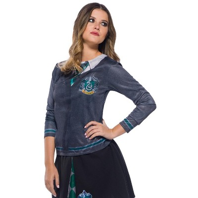 Harry Potter Slytherin Printed Top Adult Costume