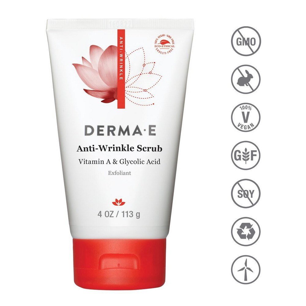 Image of DERMA E Anti Wrinkle Scrub - 4oz