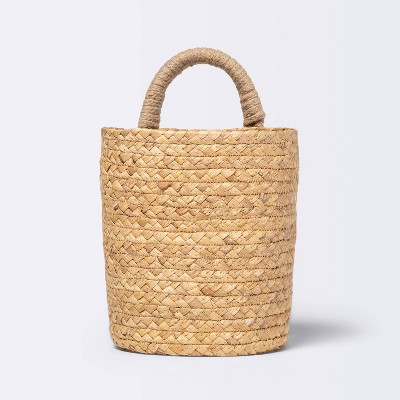Small Hanging Woven Basket with One Handle - Cloud Island™