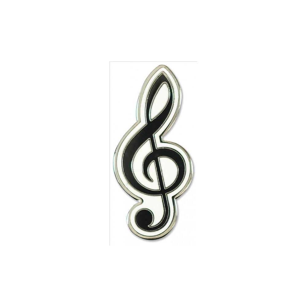 Treble Clef Hard Enamel Cloisonne Pin Set (Accessory)