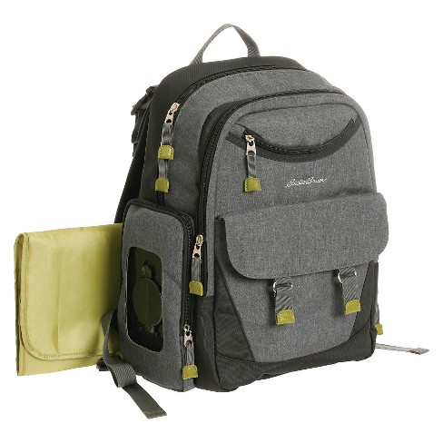 Eddie Bauer Flannel Backpack Gray - image 1 of 5