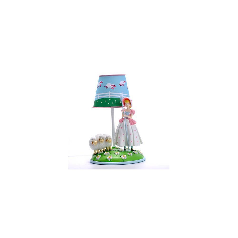 Image of Toy Story Bo Peep Table Lamp Blue