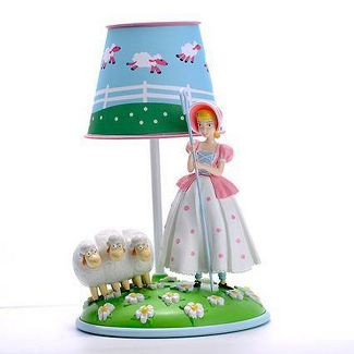 Toy Story Bo Peep Table Lamp Blue